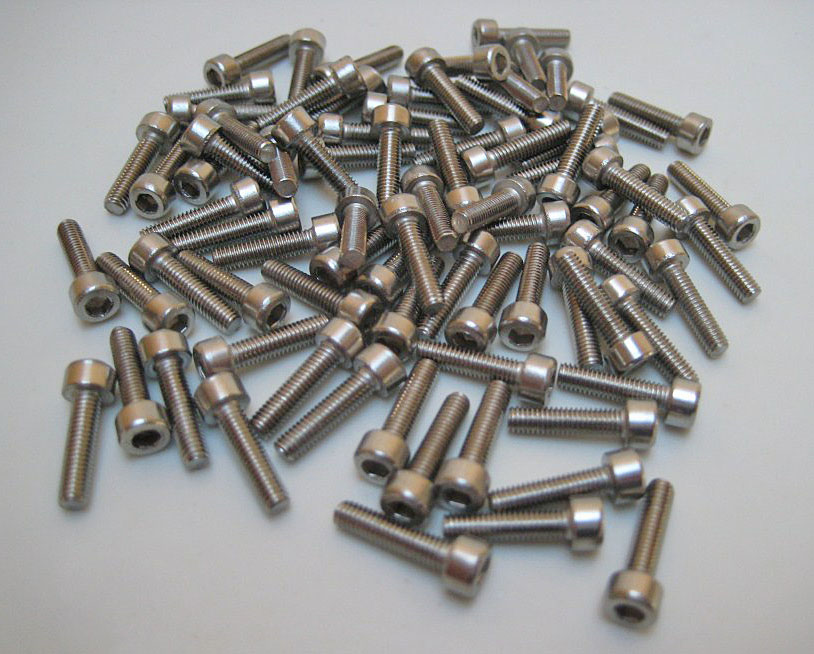 Beadlock Screws x SS 80pcs 3 x 12mm SHCS