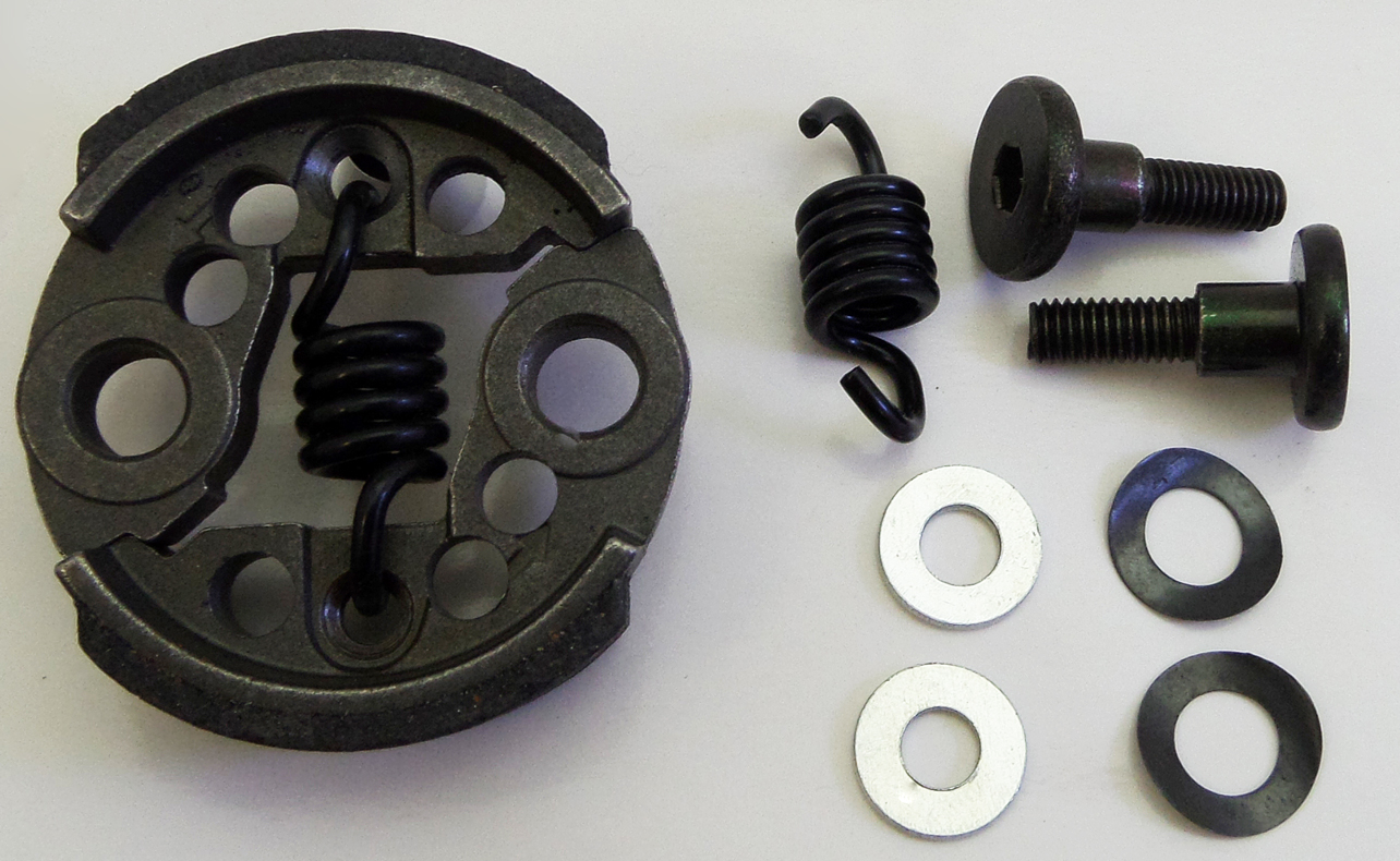 Clutch Shoes Spring & Washers High Response Set 7000 RPM by F5M