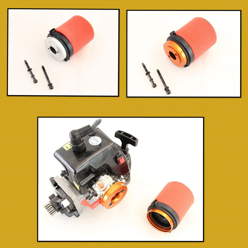 CLEARANCE Baja Air Filter QUICK RELEASE ALLOY Orange 85188