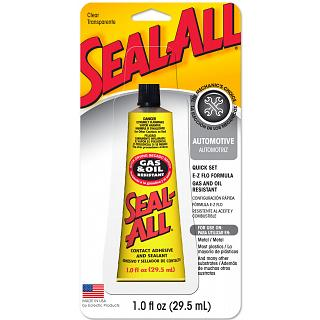 Seal All ® Gas & Oil Resistant Adhesive for RC or Auto