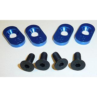 Losi 5ive Engine Mount Inserts for 18T pinion (4) by Vertigo
