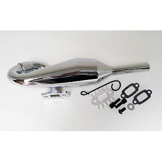 Rovan SLT Tuned PIPE Chrome 151153