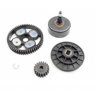 Spur Gear Pinion & HEX Clutch Bell 19/55 Gears