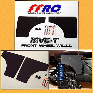 Front  Wheel Wells for Losi 5iveT by FullForce