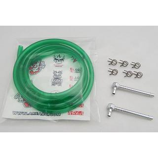High Flow Fuel Line Kit Green Fuel Line