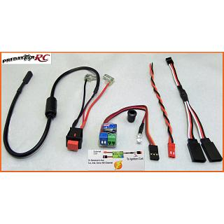 1/5 RC 2 3 & 4 CH. Spark Killer Switch & LED KIT OZ Made
