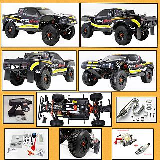 30.5cc 4 Bolt Baja SC Scorpion Short Course 5SC 3.5+HP