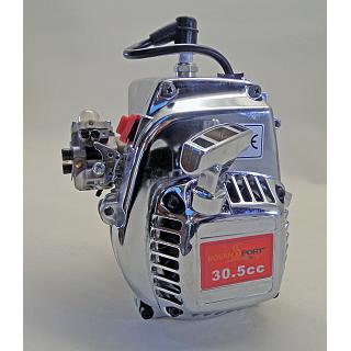 3.5HP 30.5cc Engine Chrome  4 Bolt Walbro & NGK Stuffer