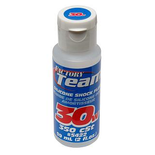 Silicone Shock Fluid 30W 350cSt 100% Silicone Team Associated sm
