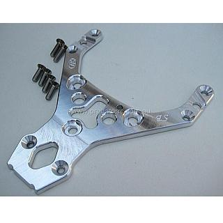 5T Front Upper Chassis Top Plate HD 5T Turtle Racing Raw 1071