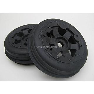 5B Sand Paddle FRONT Tyres on Super Six Wheels 85046