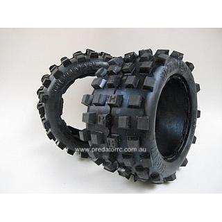 Hostile Nightmare MX EXTRA HARD Compond Tyres Rear