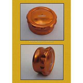 Gas Cap Billet Machined Orange baj148