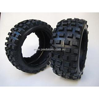 Hostile  MXT Fronts for 5T/SC Losi5 HARD Compond Tyres