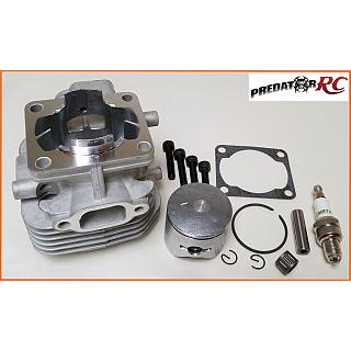 26cc 4 Bolt Top End rebuild Kit 34 mm Bore NGK