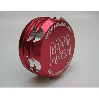 Baja Losi Gas Cap Billet by Area RC Red