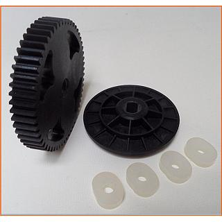 57T Steel Spur Gear HD with Drive & Dampers / Absorbers 95175