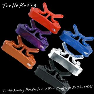 Front Combination Shock Mount Turtle Racing Blue