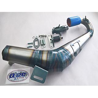 Losi 5T & LT Pro Performance 2 piece Pipe SILENCED by Olimat