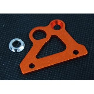 Baja Rear Brake Mount Plate Orange