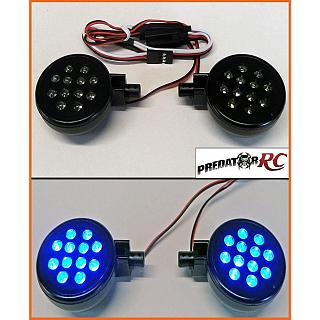 Lights Set PODS & LED,s 2pce Blue LED,s