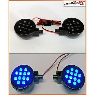 Baja 5B Lights Set PODS & LED,s 2pce BLUE LED