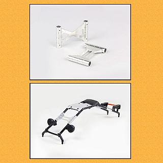 Roll Cage Quick Release Kit 2pce SILVER fit Baja byF5M 85209