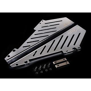 Baja 5B Baja Side Protection Winglet Plates Polished Stainless S