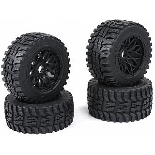 NEW 5B AT all Terrain Wheels & Tyres Front & Rears WebStar wheel