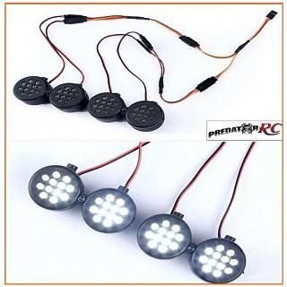 LT & Losi 5ive Lights Set x4 87047