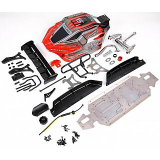 Rovan LT 5ive to V5 Buggy Conversion 7075 Aluminium Kit