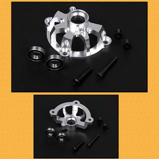 Baja Clutch Bell Carrier & Bearings HD semi Enclosed by F5M Silv