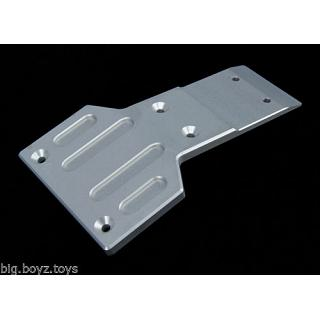 Baja Front Chassis Brace Skid Plate Stiffener HD Alloy 6.5mm Sil