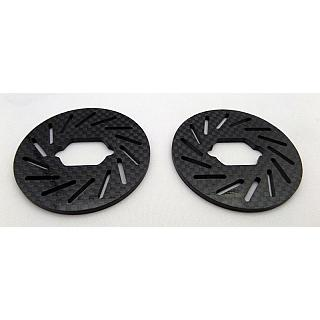 LT & Losi 5ive Carbon Fibre Brake Disc x 2 97015 151036