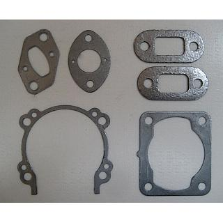 4 Bolt STEEL Reinforced Graphite Gasket Set  fit 4 bolt Engines