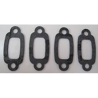 Exhaust Gasket x 4 pcs steel centre fit most 1/5 Engines