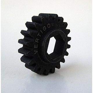 12mm HEX Pinion Gear 19T for  Vertigo Hex Clutch fit LOSI 5ive
