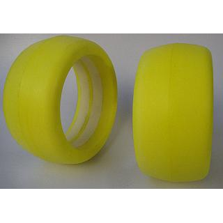 Hostile 5B Zero Growth Inserts Rear NEW Compound Hard Yellow