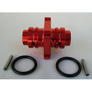 Baja Diff Spool Monster Locker RED for HPI 5B 5T SC by Vertigo P