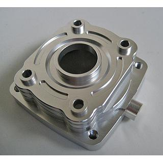 Baja Clutch Case / Housing Billet Silver Rovan Zenoah CY RCMK