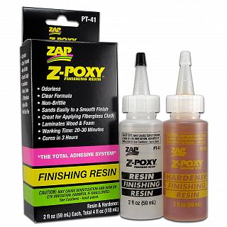 ZAP PT-41 Z-POXY FINISHING RESIN CLEAR