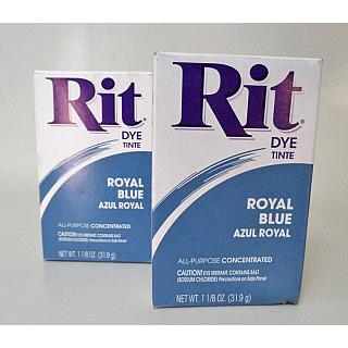RIT Dye Powder Royal Blue x 2 Packs