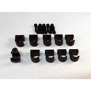 GT Baja Roll Cage Clips & Screws for Body Panels