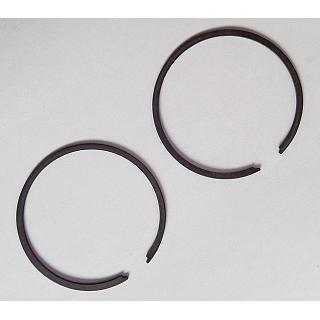 Piston Ring x 2 34 mm Bore 1mm 26 & 27.5cc 2 & 4 Bolt Engines