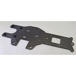 Baja Rear Lower Chassis Plate Carbon Fibre