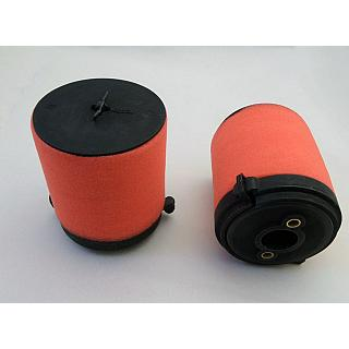 1 x Air Filter Set  & Upgrade Foam Red
