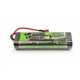 Tornado RC Battery 7.2v 5000 Mah NiMh Stick Pack Deans Plug