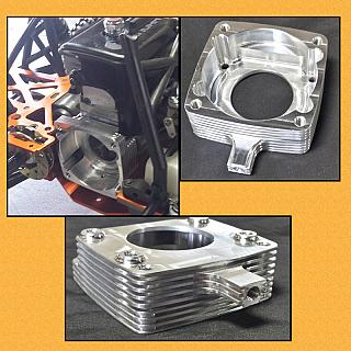 Billet Clutch Housing For G320 Engine 1491 in Baja  & Vekta.5