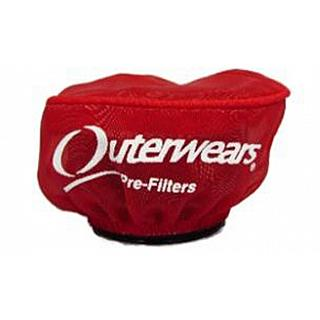 Outerwears  Short Stack Pre Filter RED for Losi5ive Vekta.5 UNI