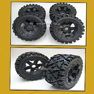 5B AT all Terrain Wheels & Tyres Front & Rears